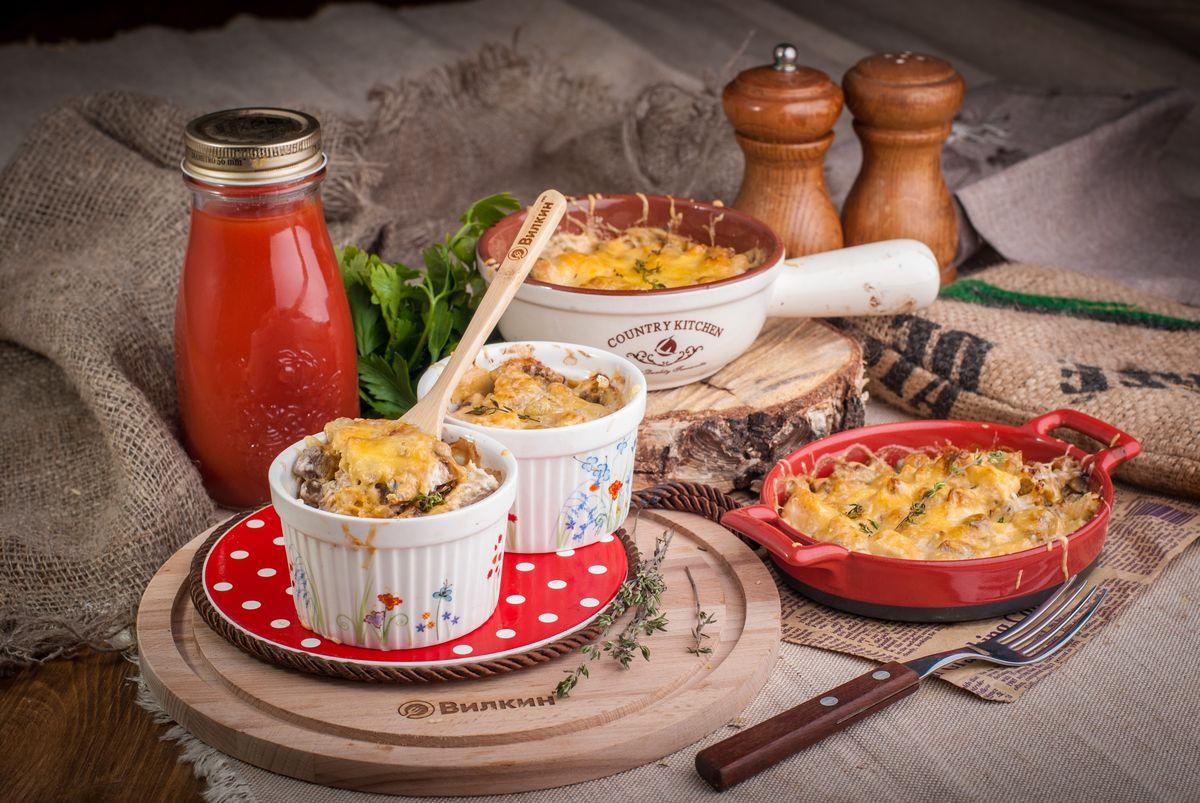 сытный ужин по-французски