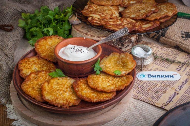картофельные драники на обед