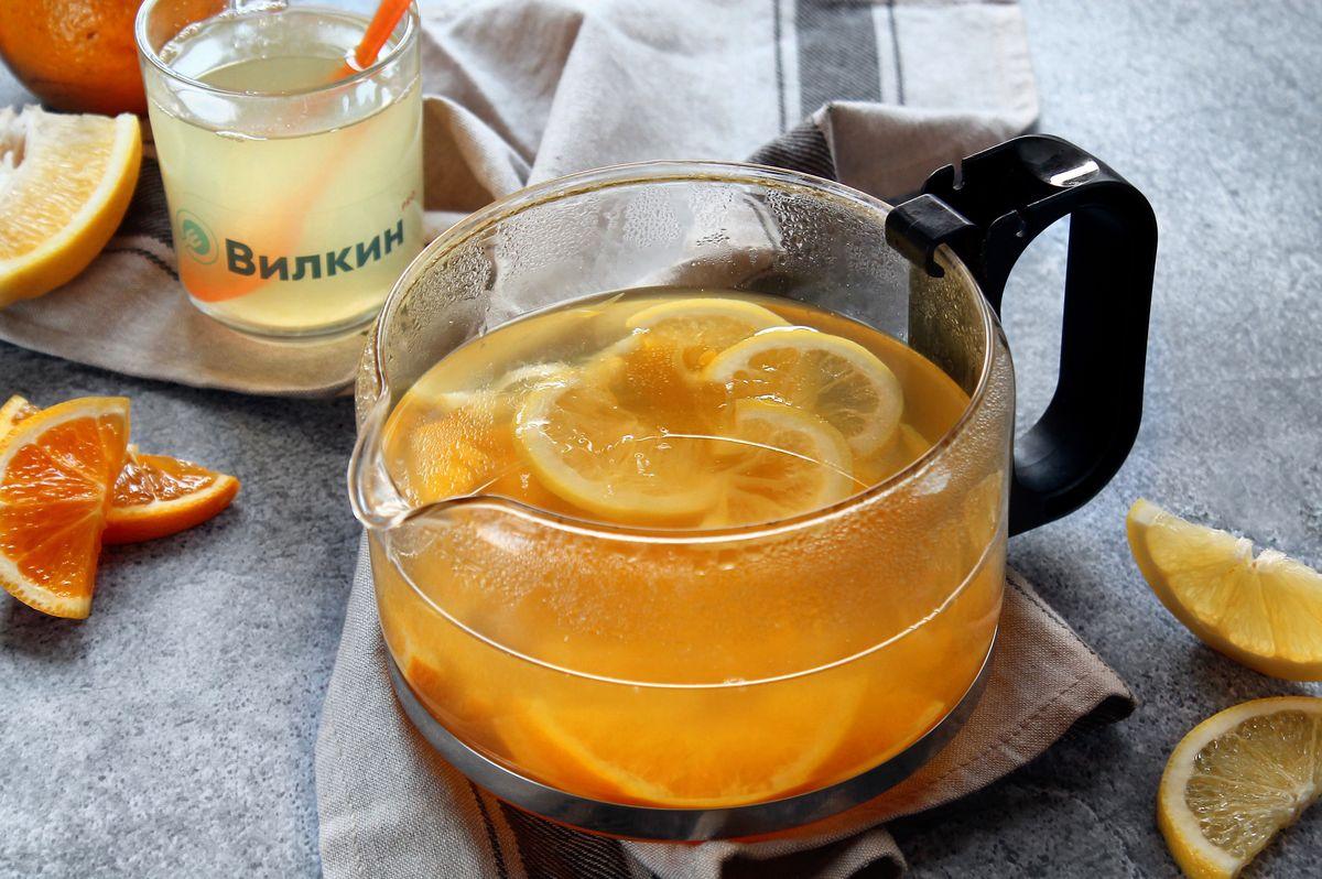 апельсиновый компот рецепт с фото если вас