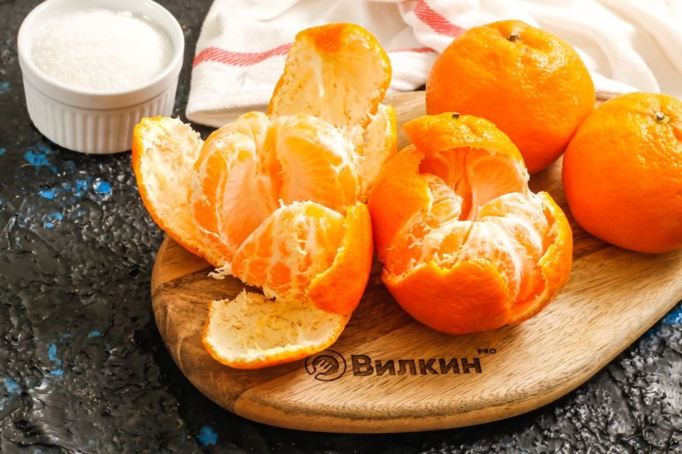 очистка фруктов