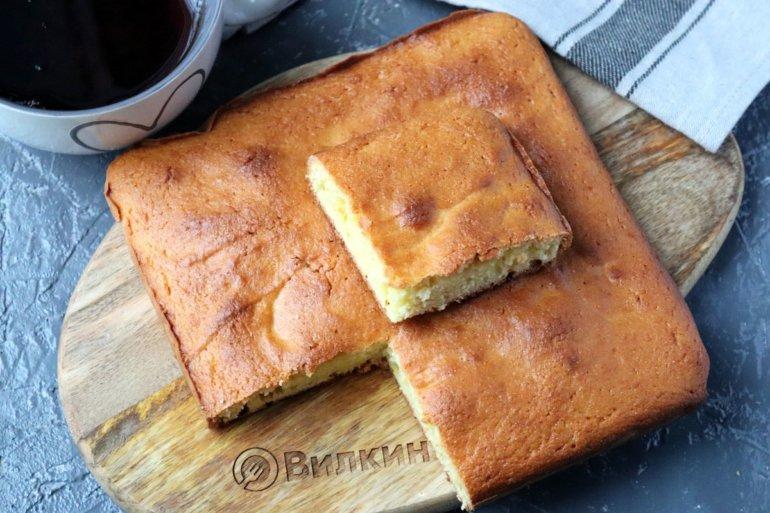 простой манный пирог