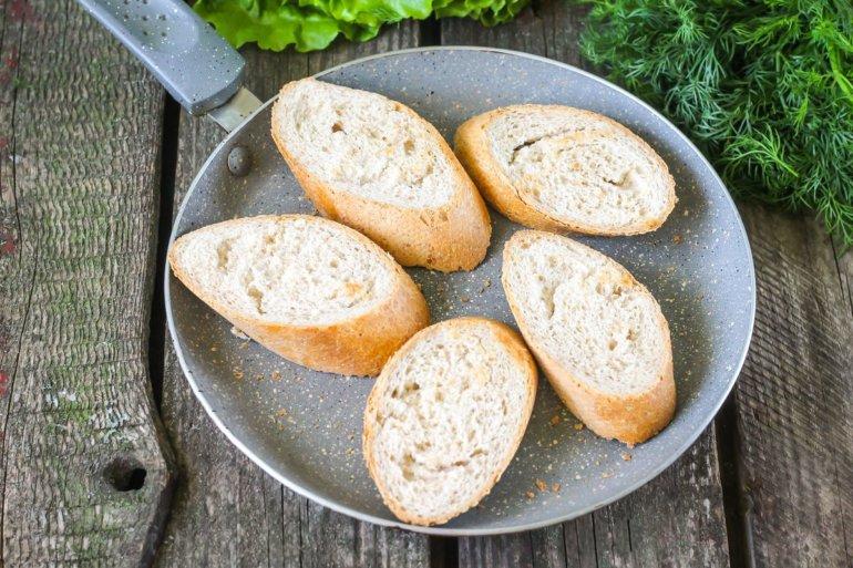 поджаривание хлеба