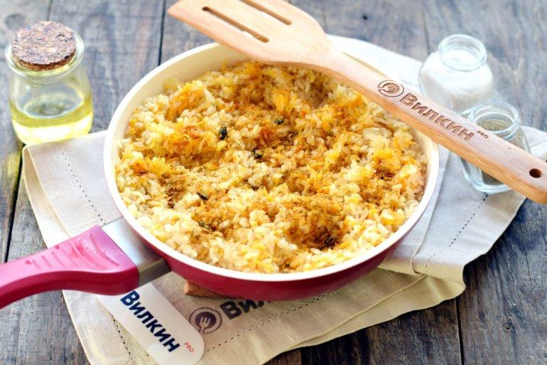 соединение с рисовой крупой
