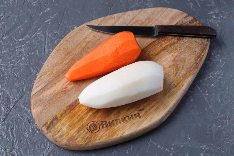 морковь и редька