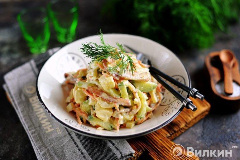 салат из свиных ушей по-корейски