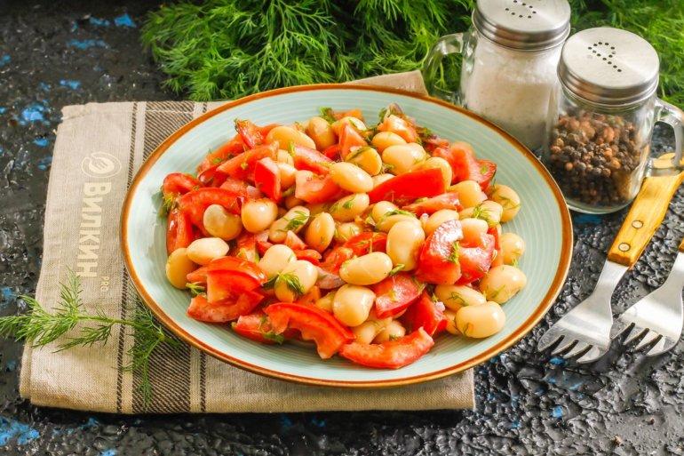 порция сытного салата