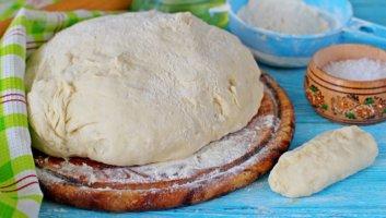 дрожжевое тесто на кефире для пирожков