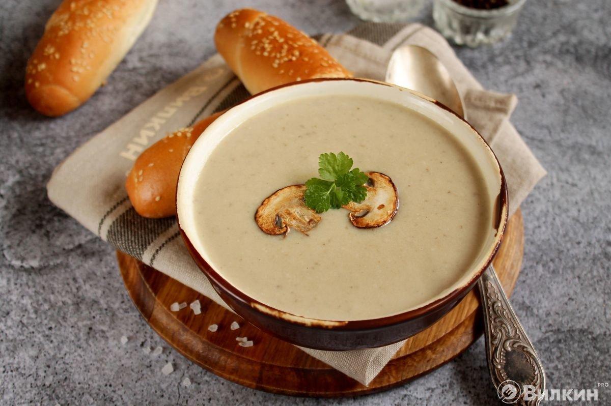 так утра грибной крем суп рецепт с фото нарушать правил эксплуатации