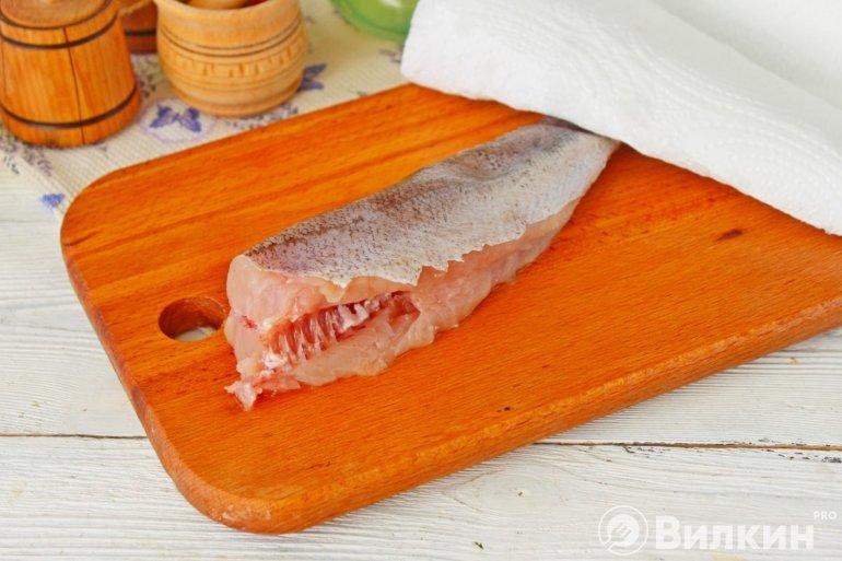 очистка рыбы