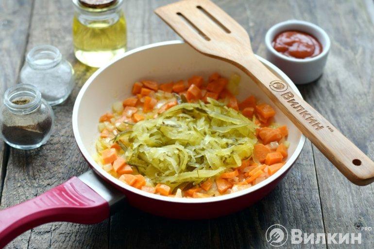 пассеровка овощей
