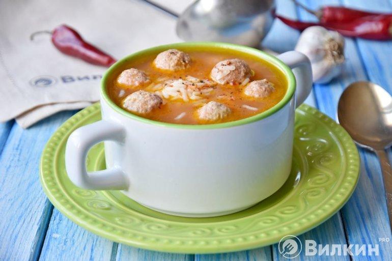 согревающий суп на обед