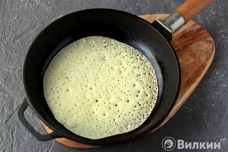 Выпечка на сковороде