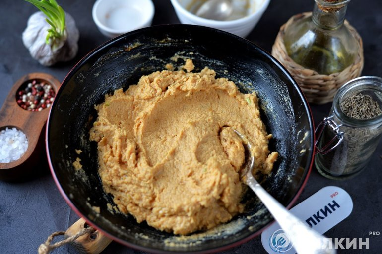 Готовый хумус