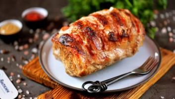 Мясо гармошка в духовке