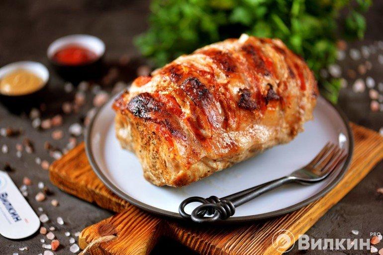 Мясо «Гармошка» в духовке