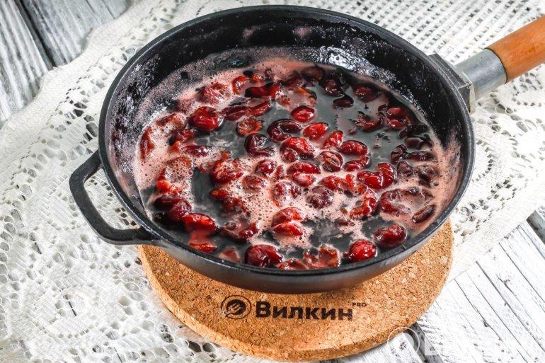 Проваренные ягоды