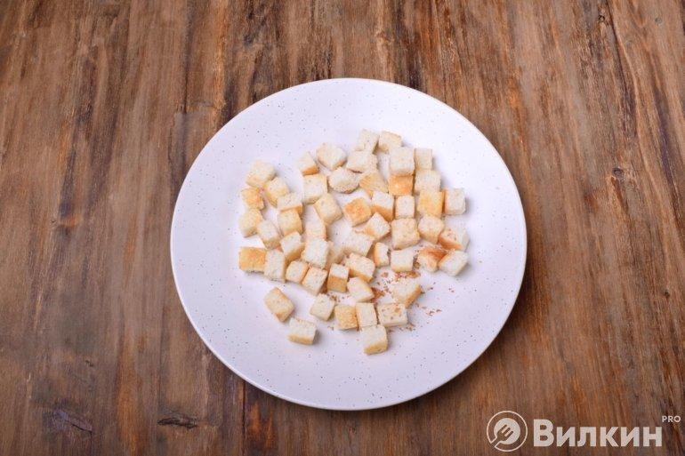 Хлебные кубики