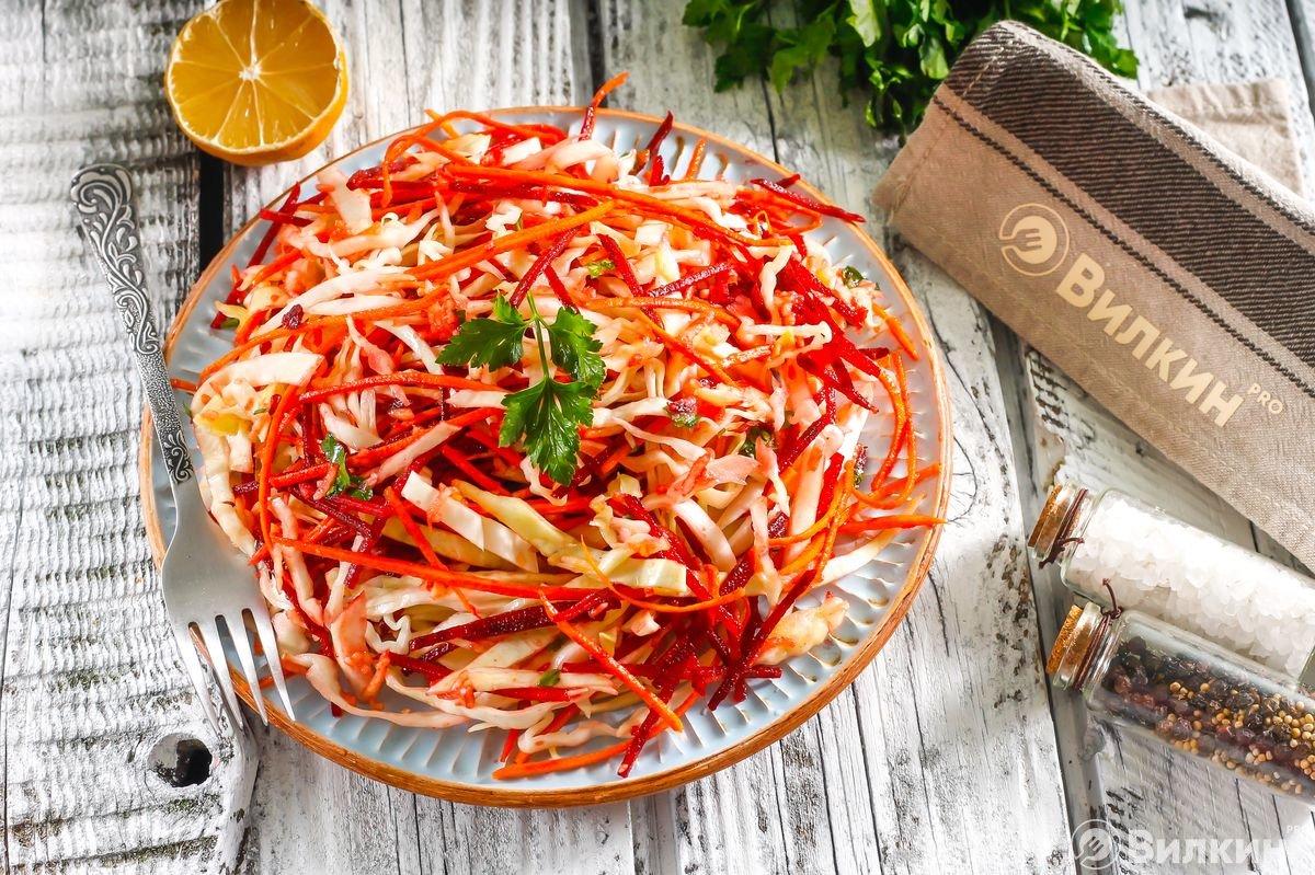 Салат морковь и свекла тертая для похудения