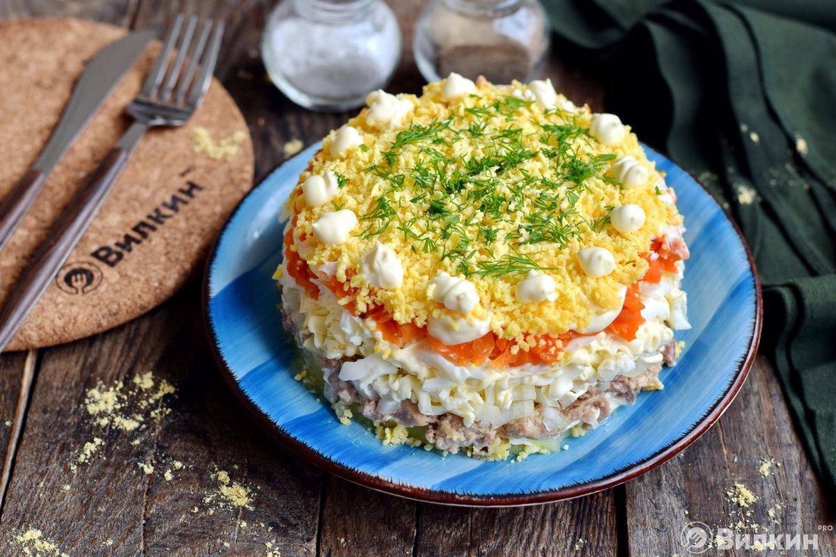 всего рецепты салатов из печени трески с фотографиями разница