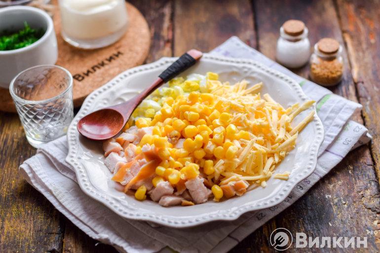 Выкладка кукурузы