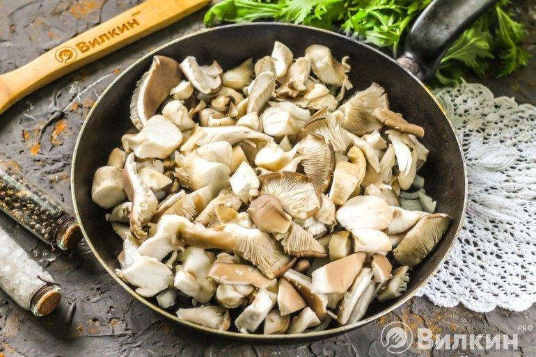 Закладка грибной нарезки
