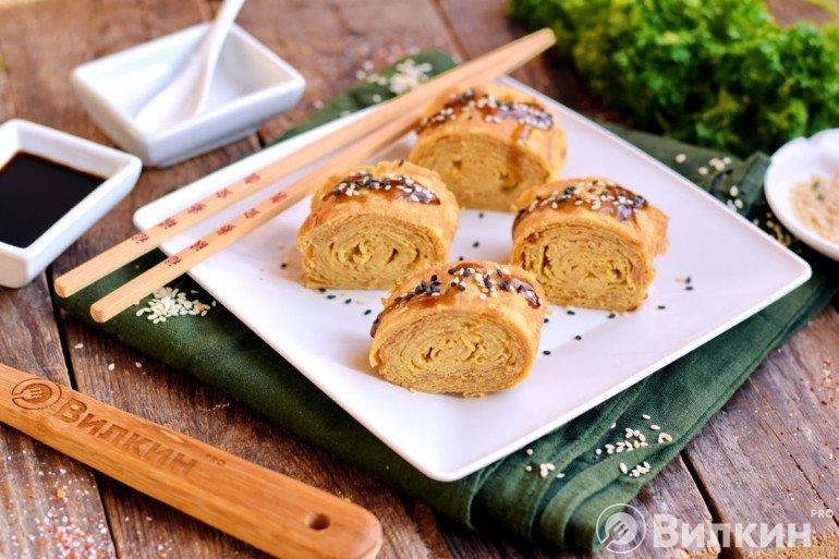 Японский омлет «Тамаго-яки»