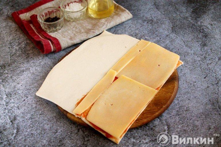 Пласты сыра