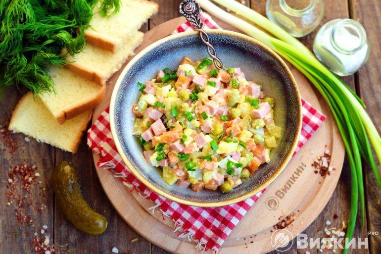 Салат «Зимний»: классический рецепт