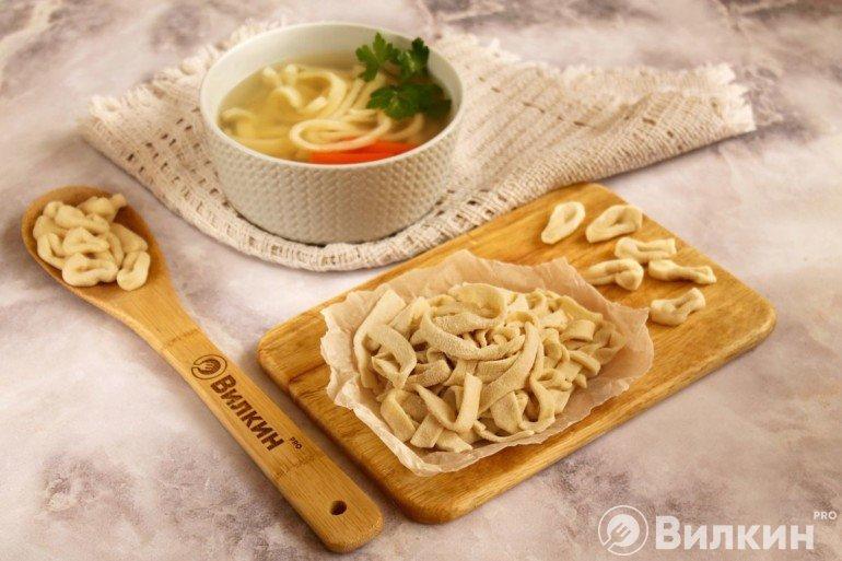 Домашняя лапша для супа