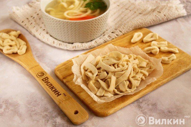 Лапша для супа в домашних условиях