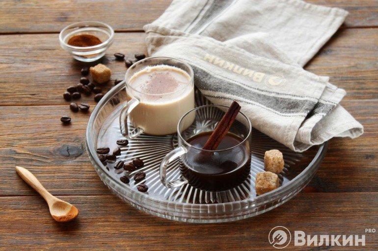 Кофе с ароматом корицы