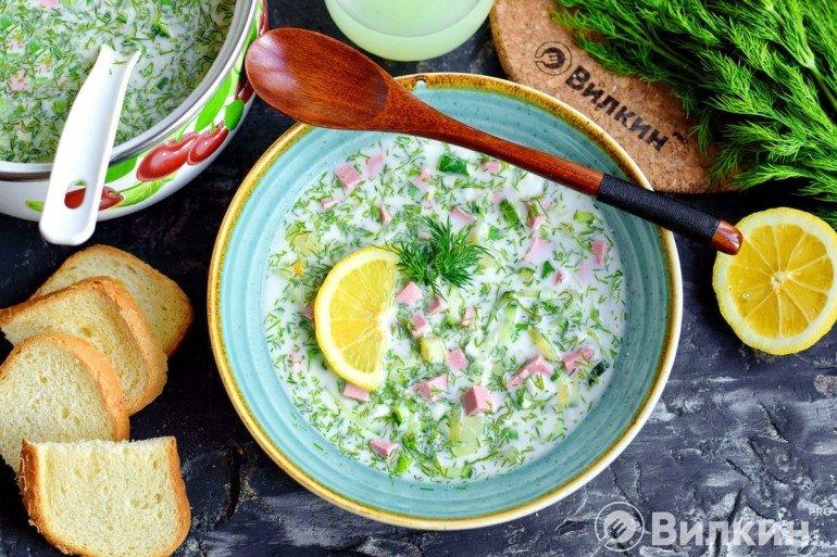Холодный суп на обед