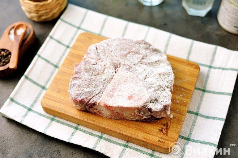 Мясо в муке