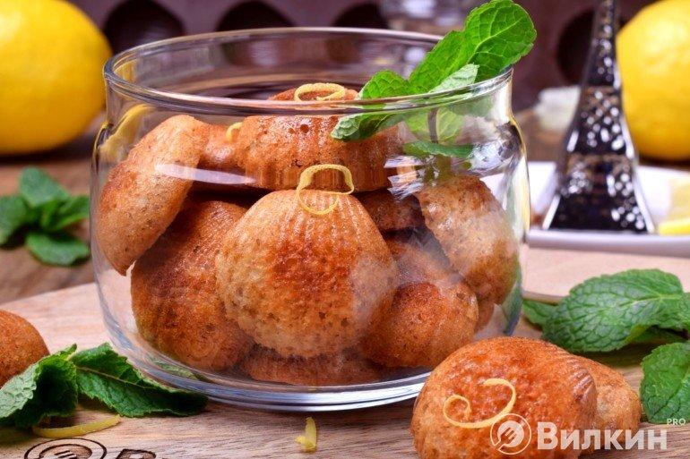 Французское печенье Мадлен