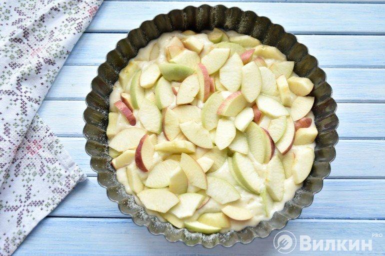 Распределение яблок
