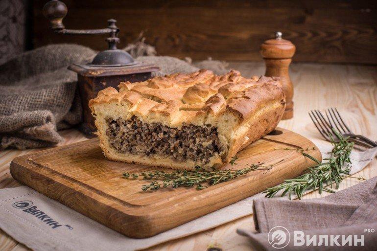 Нарезка пирога