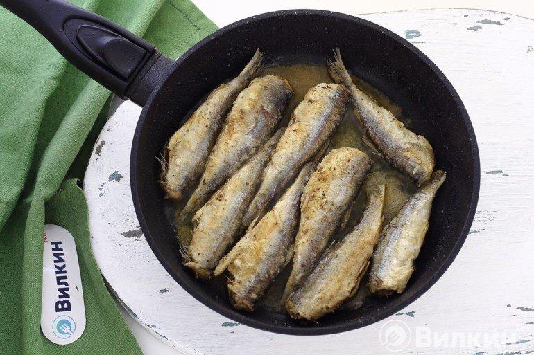 Обжаривание рыбы