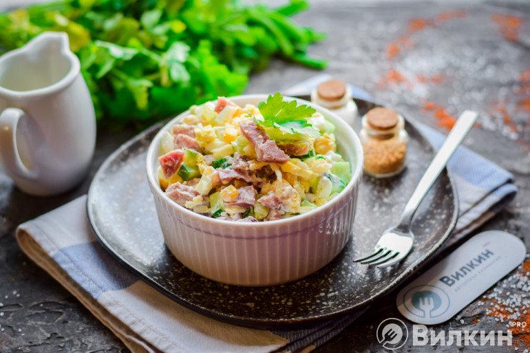 Готовый салат Нежность