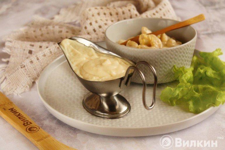 Сырно-сливочный соус для макарон, рыбы и других блюд