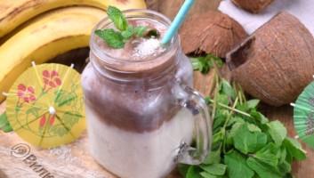 Смузи с кокосовым молоком