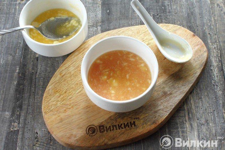 Масло с цитрусовым соком
