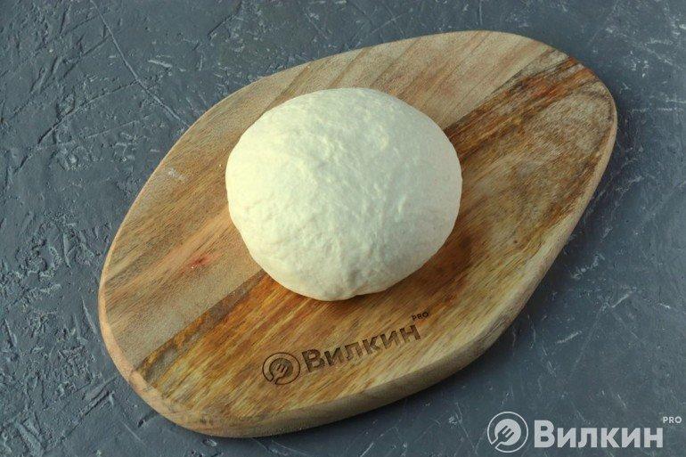 Готовое пельменное тесто