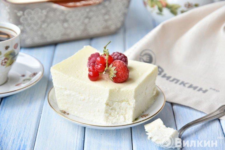 Дегустация нежного десерта