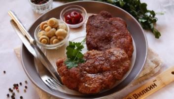 Венский шницель из свинины