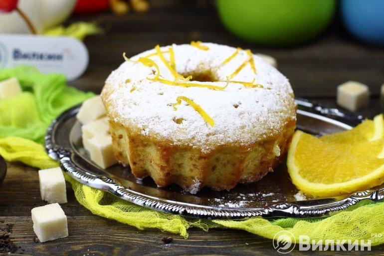 Готовый кекс на десерт