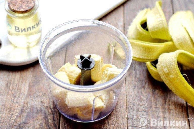 Бананы в блендере