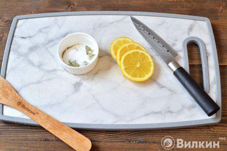 Специи и лимон