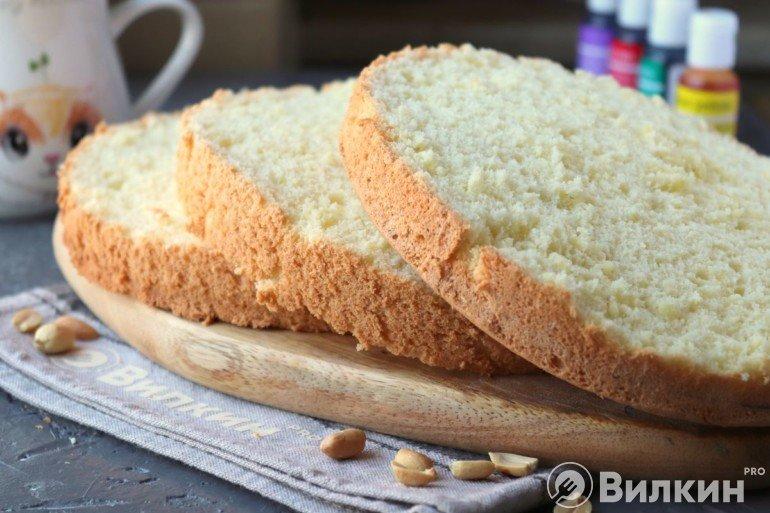 Бисквитные коржи для домашнего торта