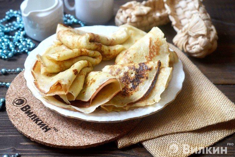 Банановые блины на завтрак
