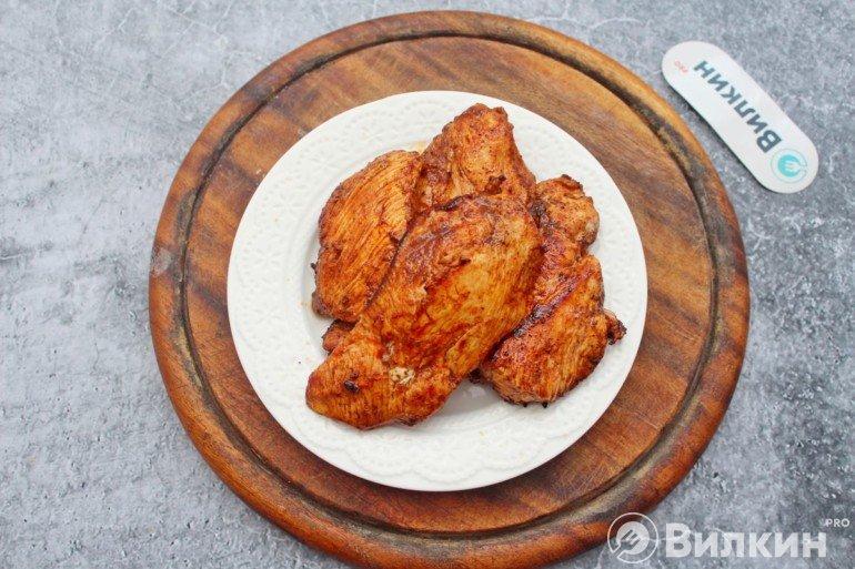 Обжаренная курица